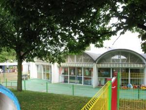 creche trampoline