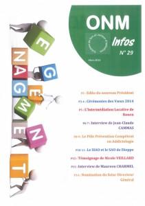 ONM Infos n 29-1
