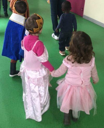 jour de Carnaval à la crèche Trampoline