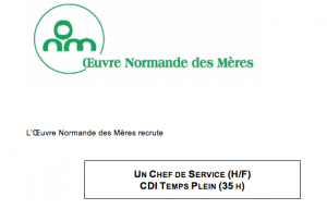 Offre d'emploi protection de l'enfance Seine Maritime